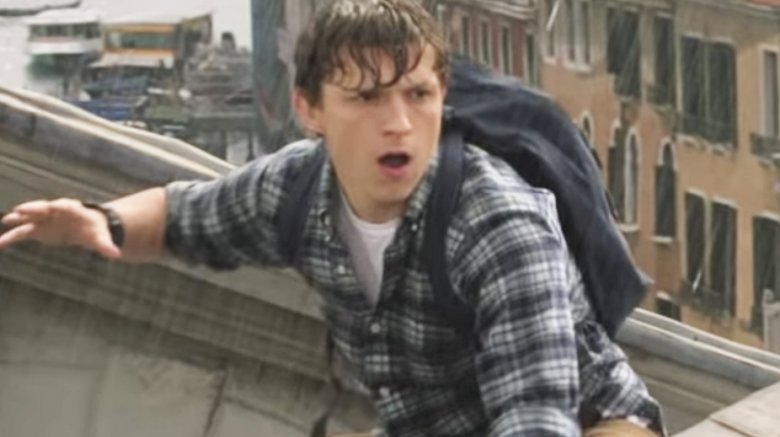 Tom Holland in the Spider-Man: Far from Home trailer