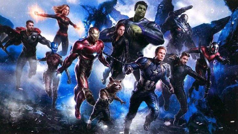 Avengers 4 leaked concept art