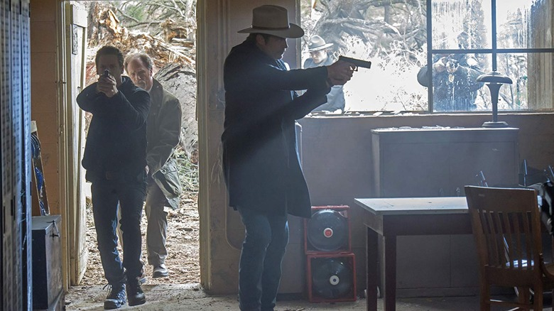 Scene from Justified