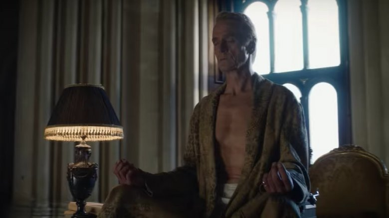 Jeremy irons as Ozymandias in the teaser trailer for HBO's Watchmen