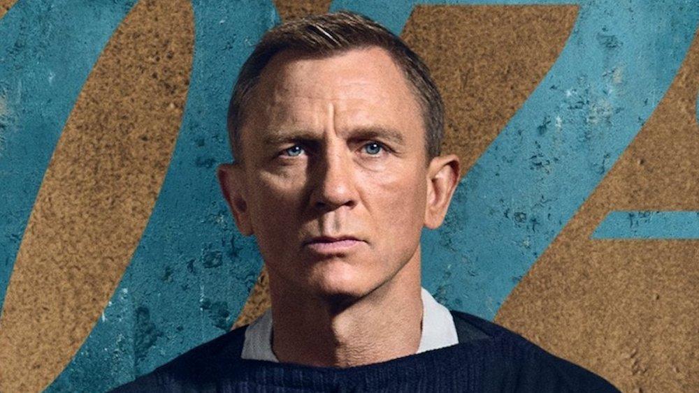 Daniel Craig in No Time to Die promo art