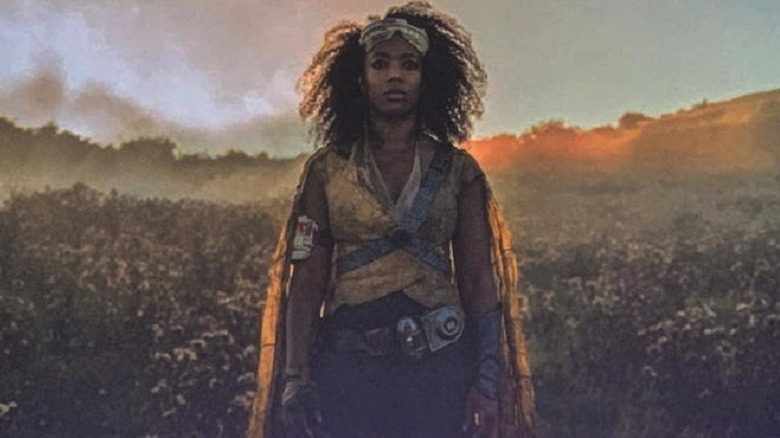 Naomi Ackie as Jannah in The Rise of Skywalker, revealed at Celebration 2019