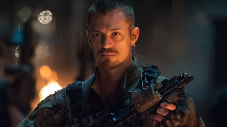 Joel Kinnaman as Rick Flagg in Suicide Squad