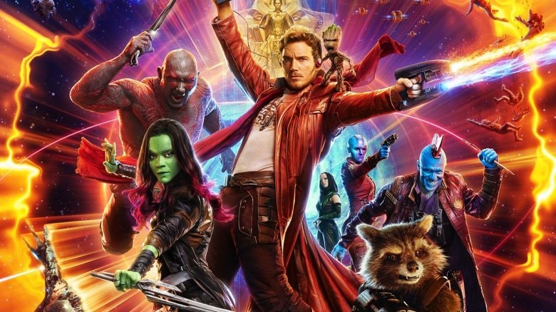 Promo art for Guardians of the Galaxy Vol. 2