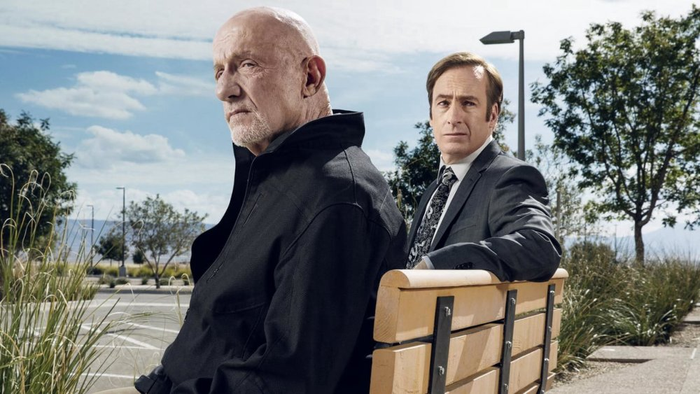 Bob Odenkirk and Jonathan Banks from Better Call Saul