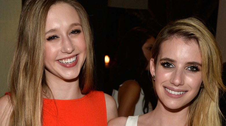 Taissa Farmiga and Emma Roberts
