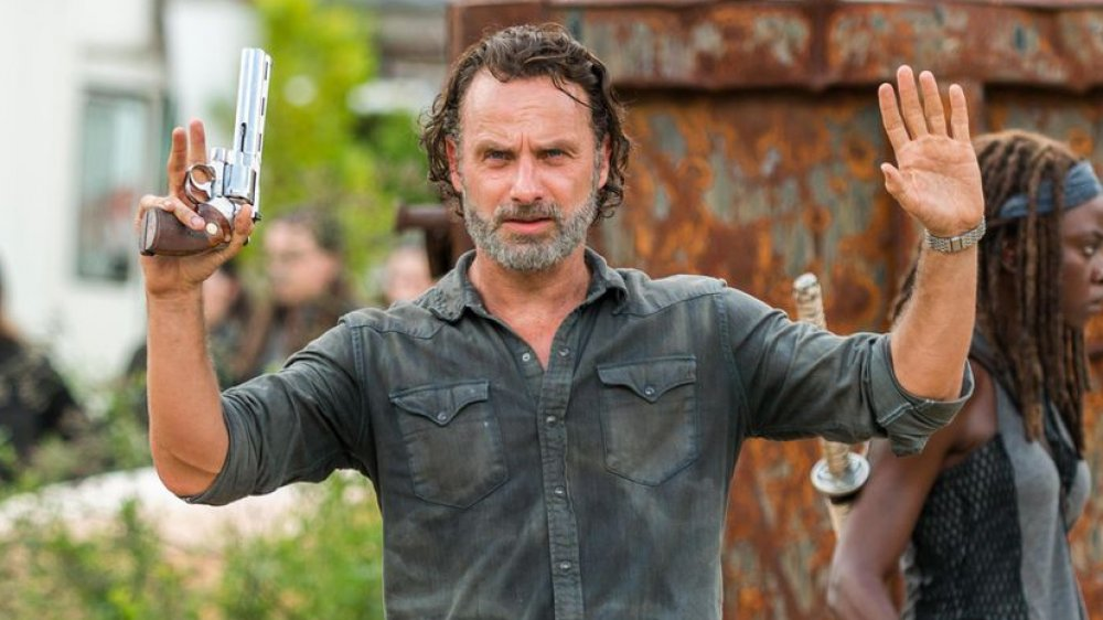 Andrew Lincoln as Rick from The Walking Dead