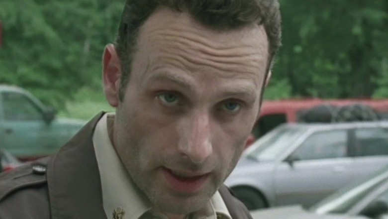 Rick Grimes without beard