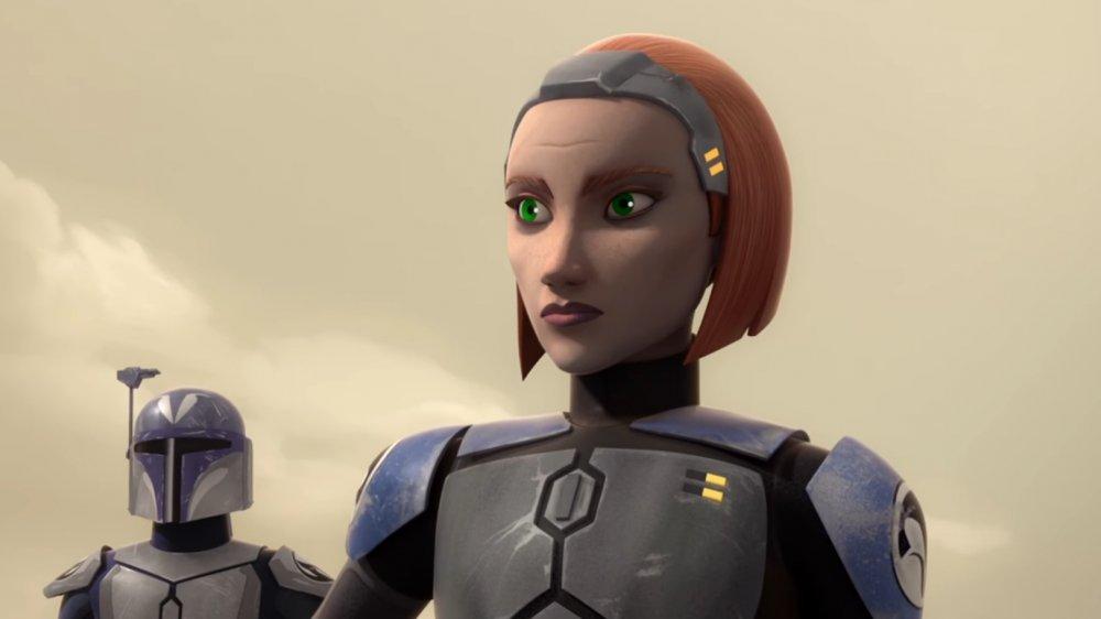 Bo-Katan Kryze as she appears in Star Wars Rebels