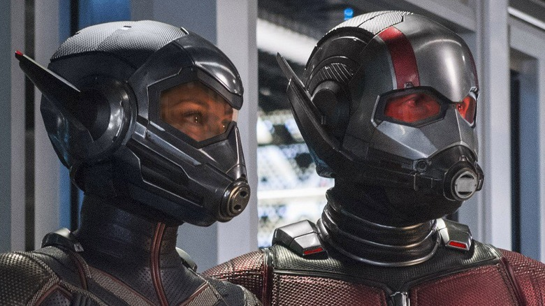 Paul Rudd Evangeline Lilly Ant-Man and the Wasp