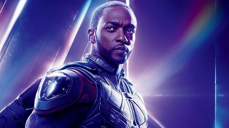 Anthony Mackie in Avengers: Endgame promo image