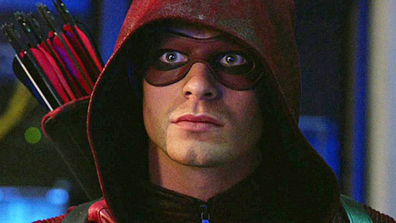 Colton Haynes as Roy Harper on Arrow