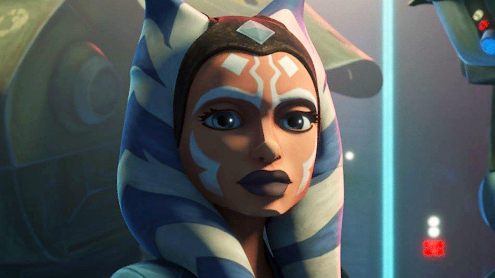 Ahsoka Tano on Star Wars: The Clone Wars