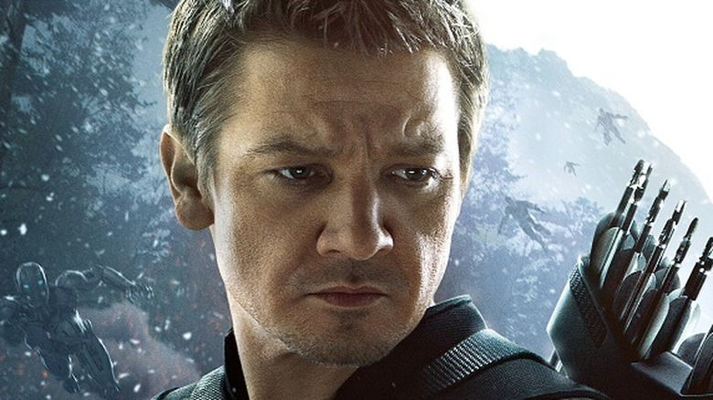 Jeremy Renner as Hawkeye in Avengers: Age of Ultron