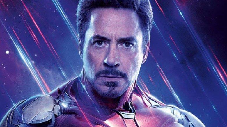 Robert Downey Jr. Iron Man Avengers Endgame poster