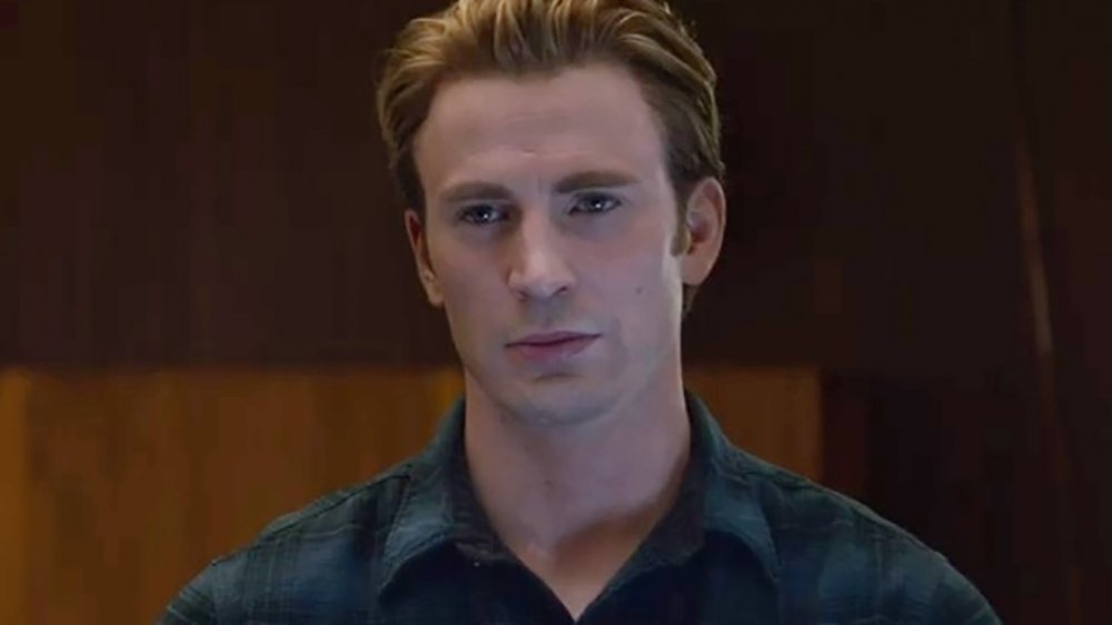 Chris Evans as Steve Rogers in Avengers: Endgame