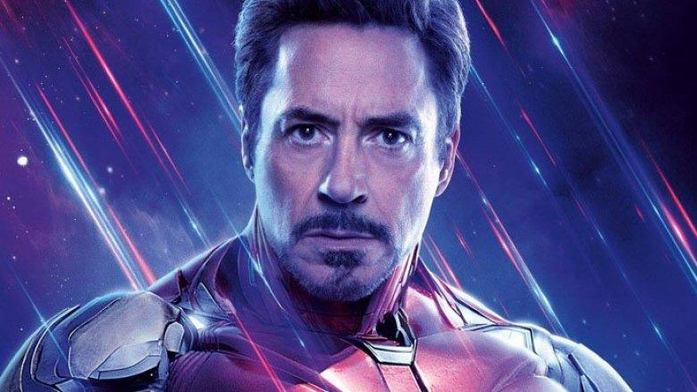 Robert Downey Jr. Iron Man Avengers: Endgame poster