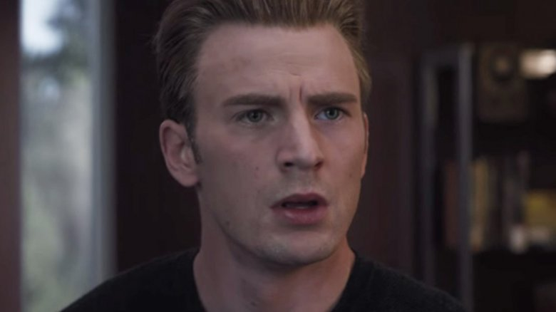 Chris Evans Captain America Avengers Endgame