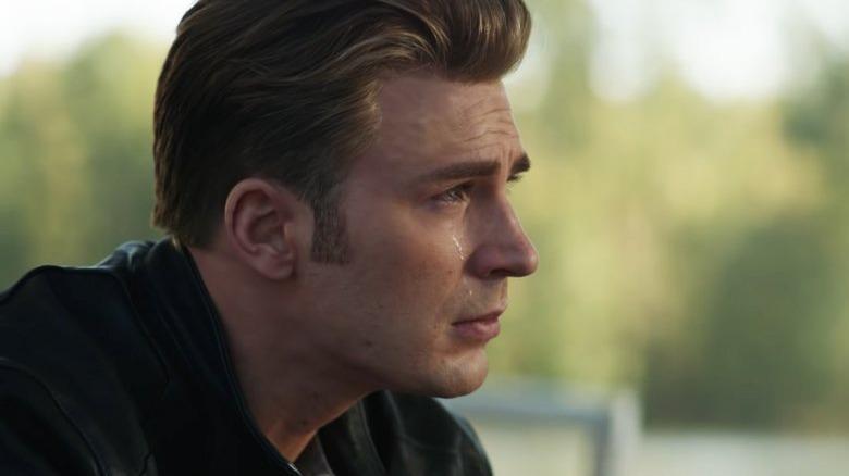 Avengers Endgame Captain America crying