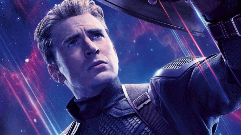 Chris Evans Captain America Avengers Endgame poster