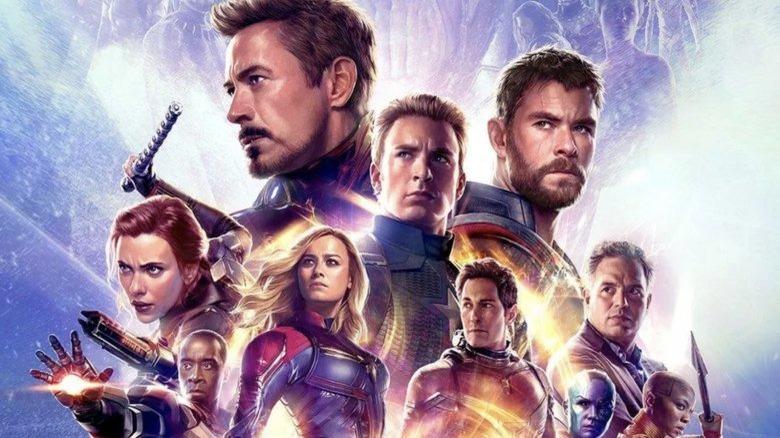 Avengers Endgame heroes poster