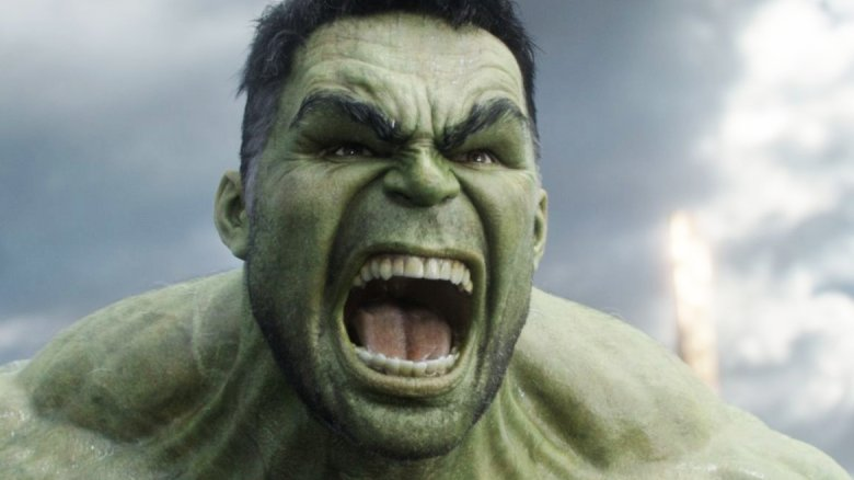 Mark Ruffalo Hulk yell