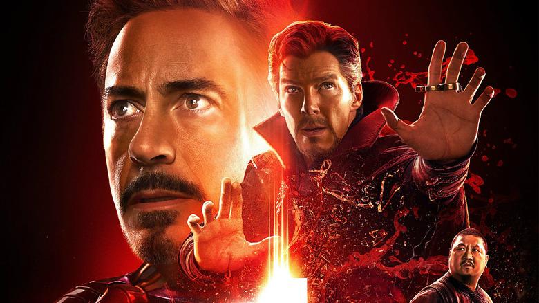 Avengers Infinity War Iron Man Reality Stone poster
