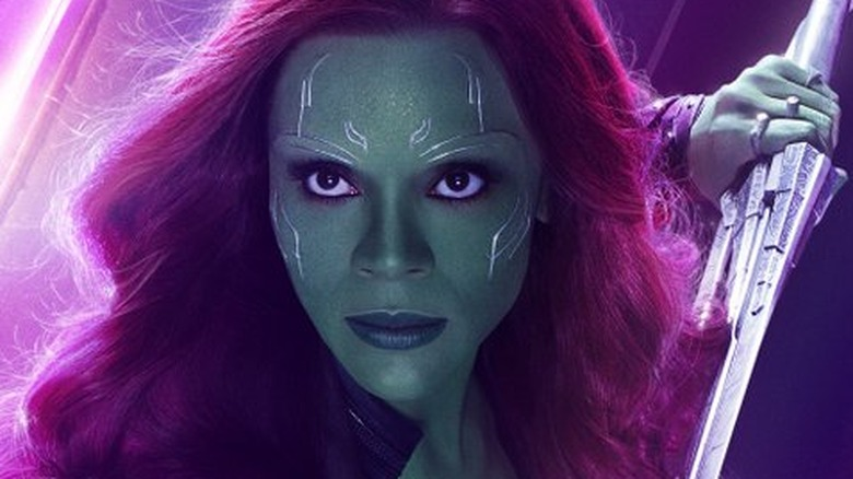 Zoe Saldana Gamora Avengers: Infinity War