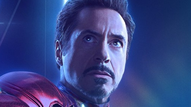 Robert Downey Jr. Iron Man Avengers: Infinity War poster