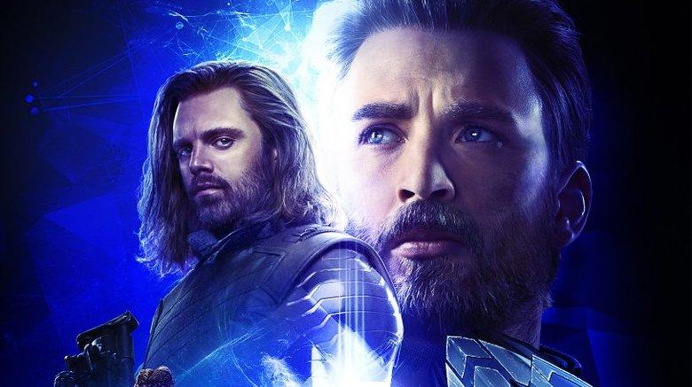 Avengers: Infinity War poster Captain America