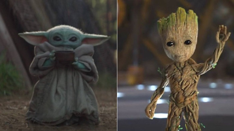 Baby Yoda vs Baby Groot: 60% of people agree this is the cutest pop culture baby