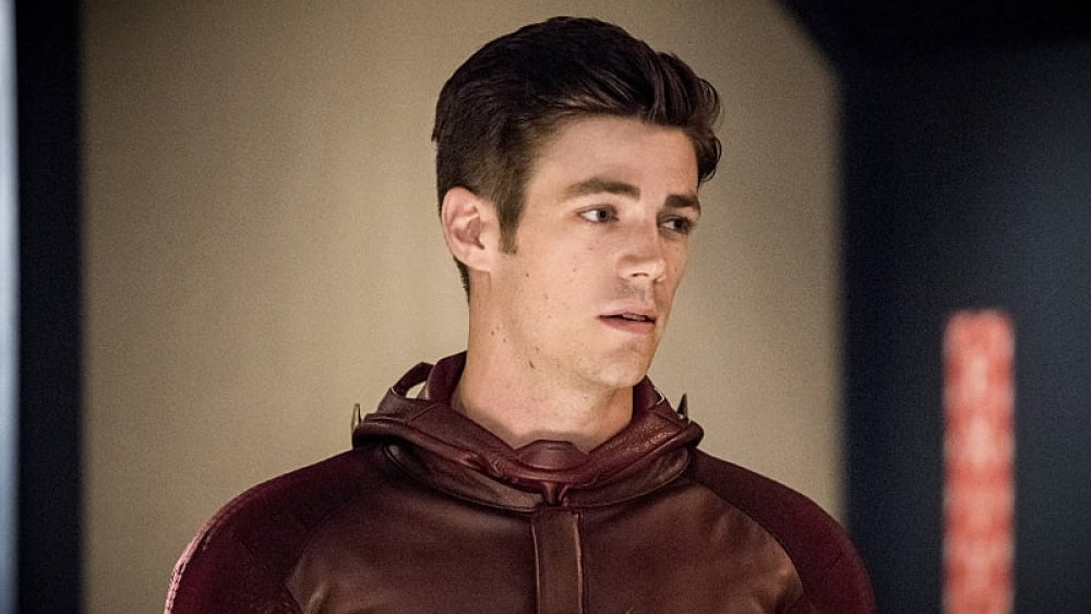 Grant Gustin as Barry Allen, AKA the Flash, in the Arrowverse