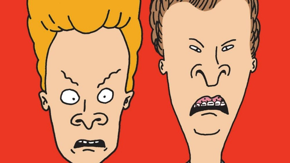 Beavis and Butthead scared