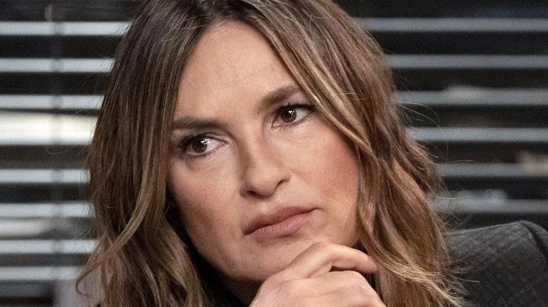 Olivia Benson listening