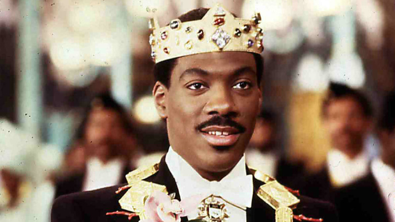 Eddie Murphy as Prince Akeem in Coming to America