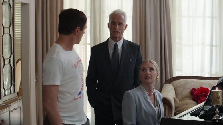 The Stark family together in Captain America: Civil War