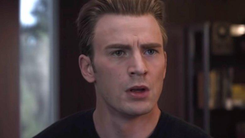 Chris Evans as Steve Rogers/Captain America in Avengers: Endgame
