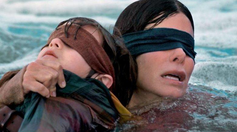 Sandra Bullock in Bird Box Netflix