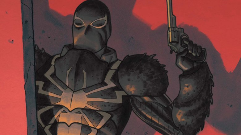 Flash Thompson as Agent Venom on the cover of 2012's Venom #27.1