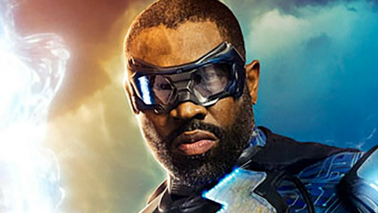 Cress Williams as Jefferson Pierce in the CW's Black Lightning promo poster