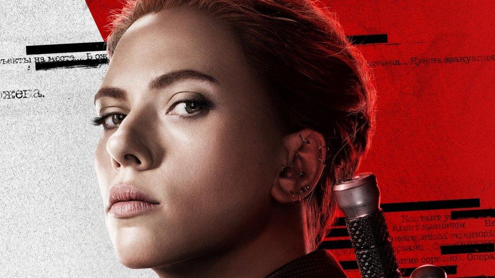Black Widow poster art