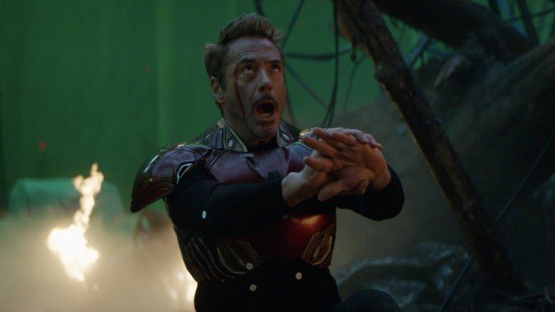 Robert Downey Jr. gritando Vingadores Endgame blooper