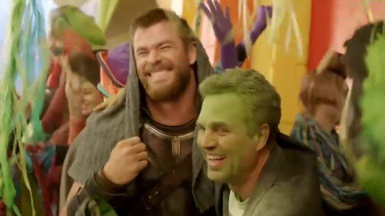 Chris Hemsworth and Mark Ruffalo