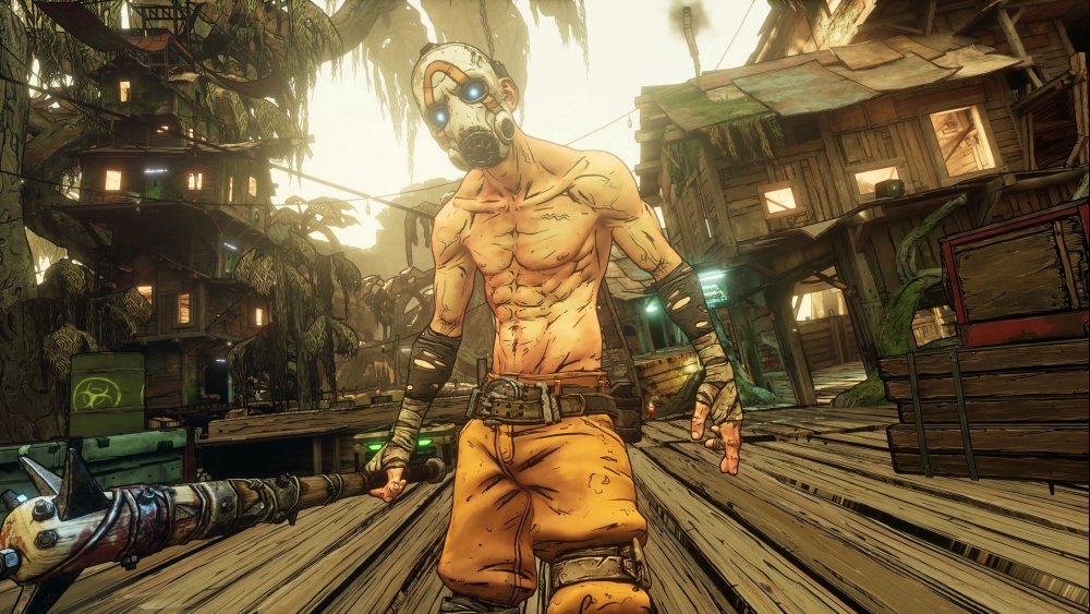 A psycho from Borderlands