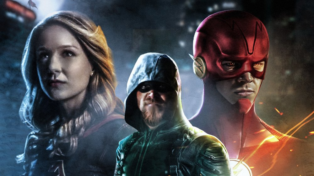 Arrowverse fan art from BossLogic