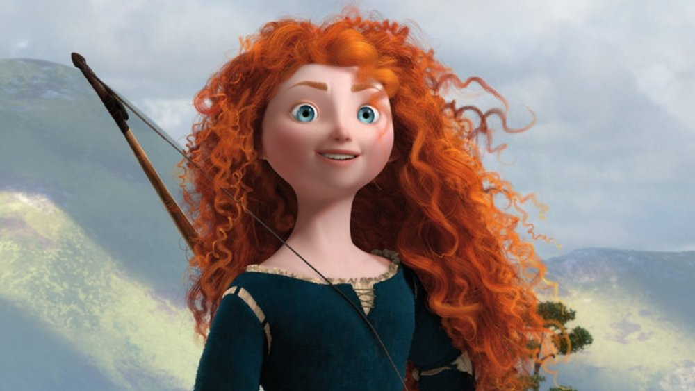 Merida carries her bow in Brave