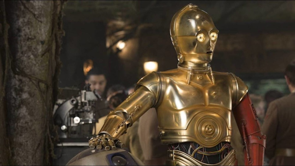 Anthony Daniels plays C-3PO in the Star Wars films