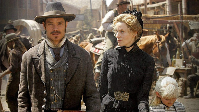 Scene from Deadwood