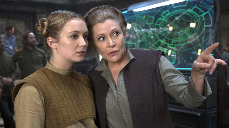 Billie Lourd Carrie Fisher Princess Leia