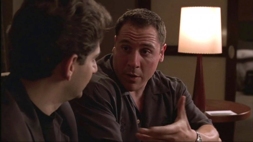 Jon Favreau and Michael Imperioli on The Sopranos